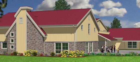 Photo of Community Center Building